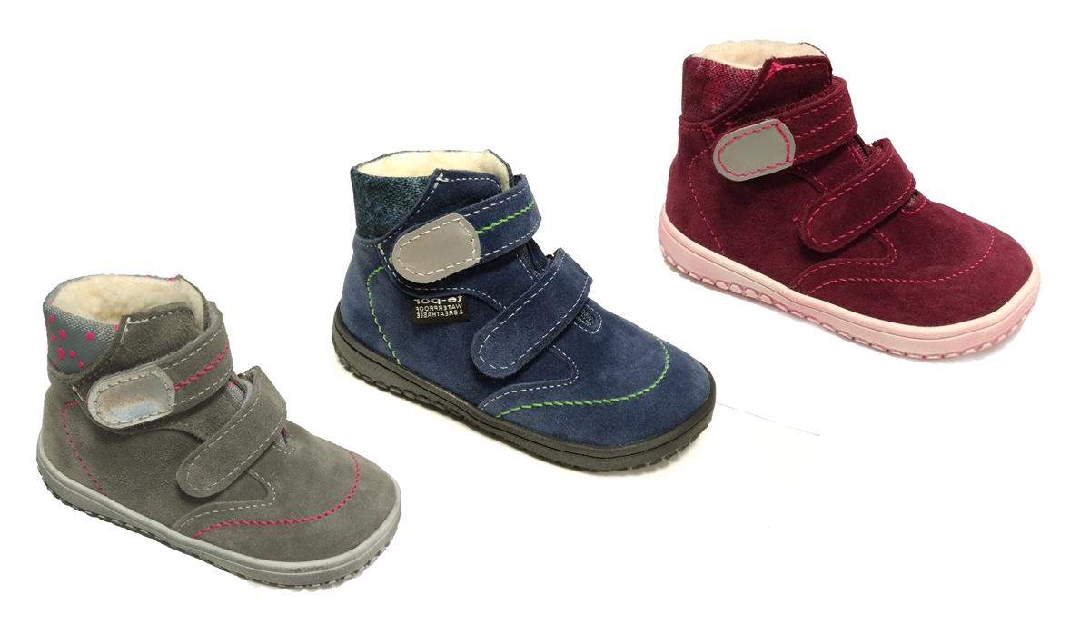 Zimní boty Jonap B5 - Barefoot Membrána. Vínová maskáč. Akce · Úvodní foto b640f488b9