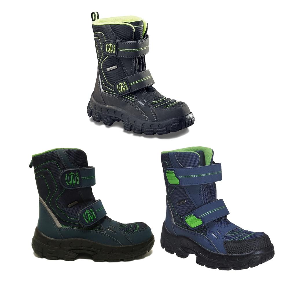 Zimní boty RICHTER 7931. Černá neon · Úvodní foto c38394c34e